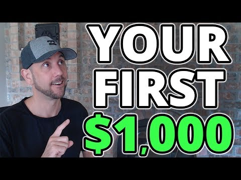 How To Make $1000 Per Month Online - Simple Beginner Friendly Process