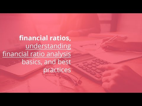 financial ratios 101, understanding financial ratio analysis basics, and best practices