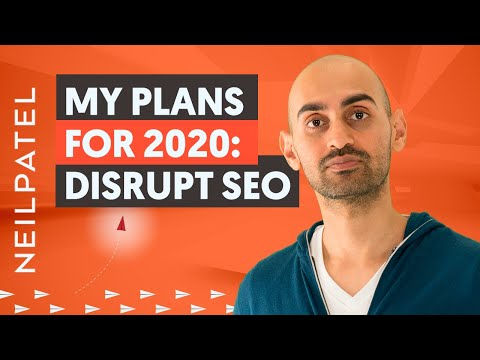 Why I Decided To Disrupt the SEO Industry   My Marketing Plans for 2020