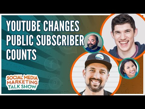 YouTube Changes Public Subscriber Counts
