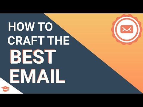 How to Craft the Best Email