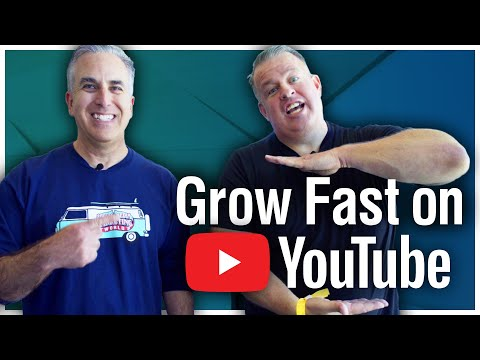 How to Grow Your YouTube Channel More Quickly with Derral Eves