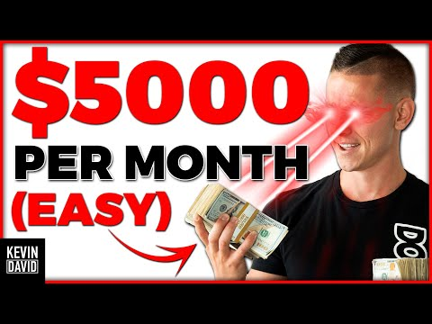 How to Make $5,000 per Month Working from Home! (EASY)