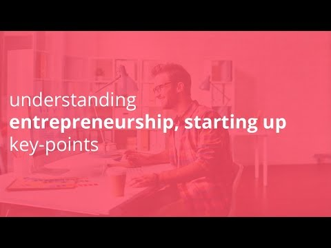 understanding entrepreneurship, starting up key points