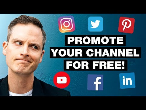 How to Promote Your YouTube Channel for FREE with Social Media