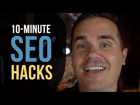 10 SEO Improvements You Can Make In Under 10 Minutes