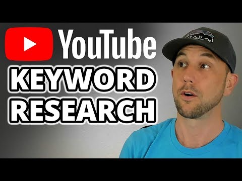 Keyword Research For YouTube - How To Use The Best YouTube Keyword tool