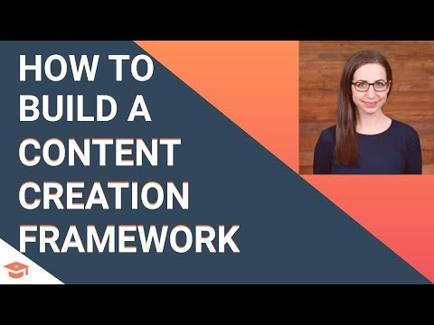 How to Build a Content Creation Framework