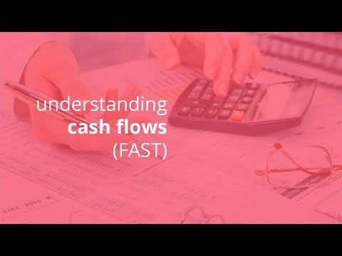 understanding cash flow statement main 3 types operating, investing, and financing FAST