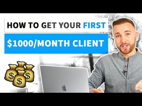 How to Get Your First Client [SMMA]