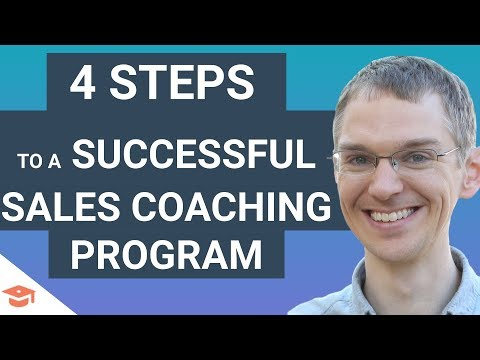 4 Steps to Building a Successful Sales Coaching Program