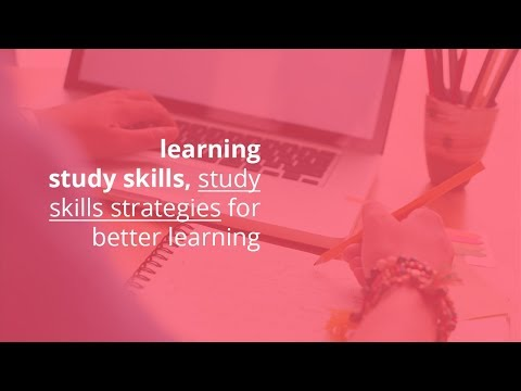 learning study skills, study skills strategies for better learning