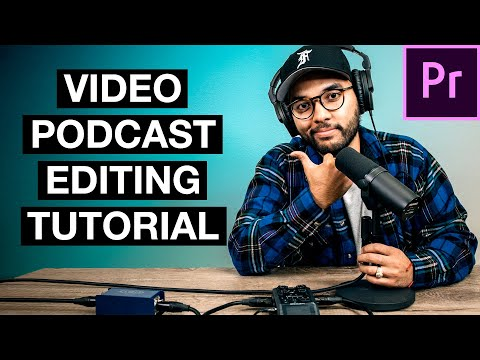 How to Edit a Video Podcast Tutorial (FREE Must-Have App)