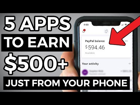 5 BEST Apps To Make Money From Your Phone (2019)