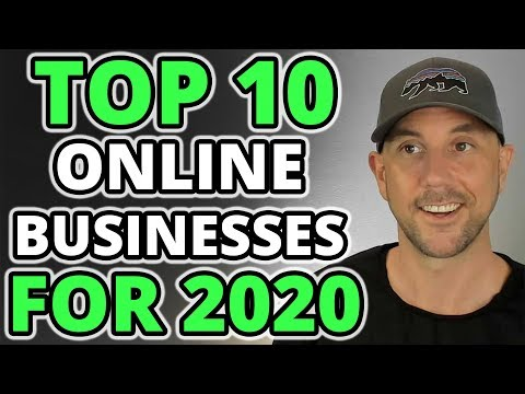 2020's Best Online Business Ideas - Top 10 Lifestyle Businesses Revealed.