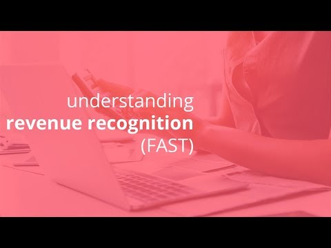 understanding revenue recognition main 3 phases before, same time, and after FAST