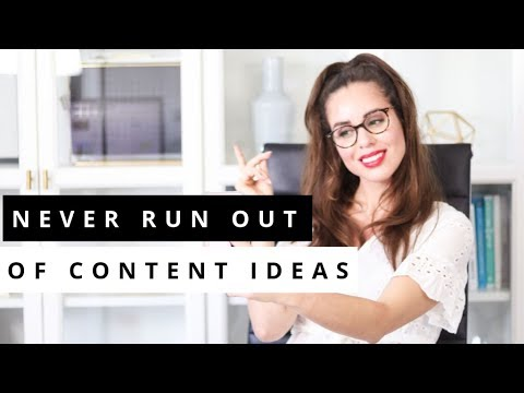 Running out of CONTENT CREATION Ideas? 3 Steps To Come Up With Original Ideas NOW!