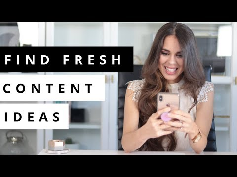 Find ENDLESS Content Ideas For Social Media with These Free Tools!