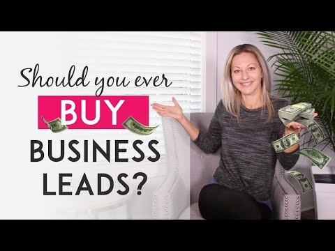 Why I Don't Think Buying Business Leads Is A Good Idea