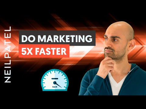 How to Stop Overthinking Your Marketing And Do The Work 5x Faster | FAST Business Growth