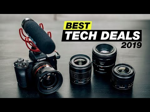 Best Camera and Tech Deals on Amazon (Best Tech Gifts 2019)