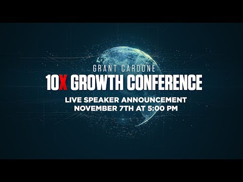 Live Announcement 10X Growth Conference 2020
