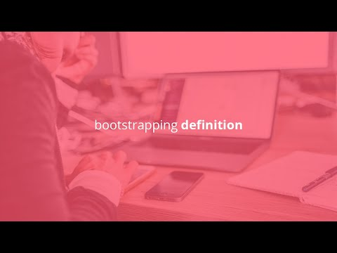 bootstrapping definition