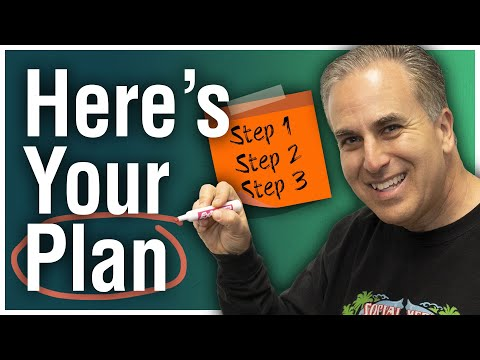 How to Map a Plan to Achieving Your Big Goals