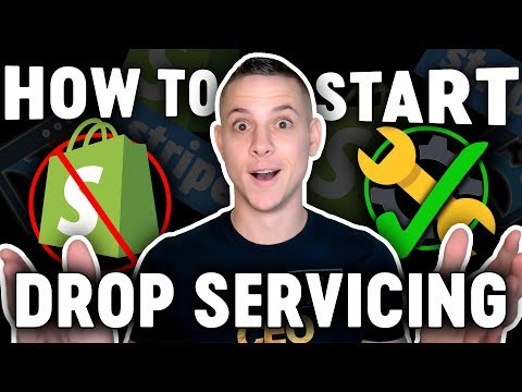 How to Start a Drop Servicing Business (BETTER Than Dropshipping)