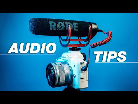 How to Get Better AUDIO in Your YouTube Videos — 4 Tips