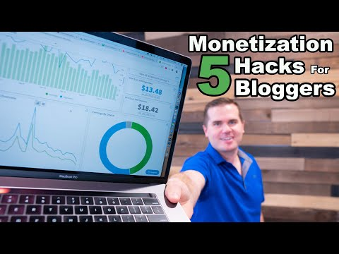 Go Full-Time With A Small Blog: 5 Monetization Hacks