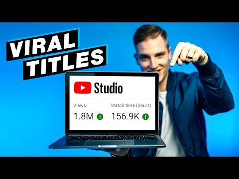 How to TITLE Your YouTube Videos to Get More Views