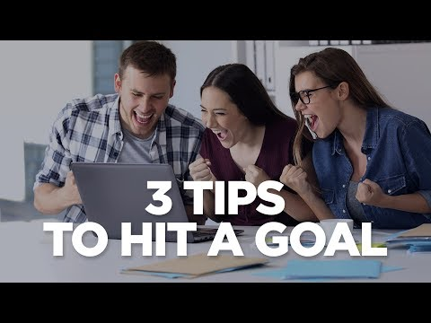 3 Tips To Hit A Goal - Young Hustlers