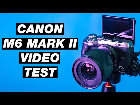 Canon M6 Mark II Video Test (4k and Slow Motion)
