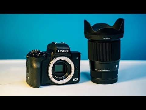 Best Lens for Canon M50 — Sigma 16mm 1.4 Review and Video Test