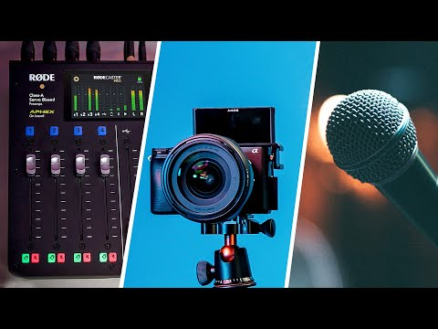 Video Production Equipment Checklist for Events: Sony A6400, RØDECaster Pro, and BOSE S1 Pro Setup