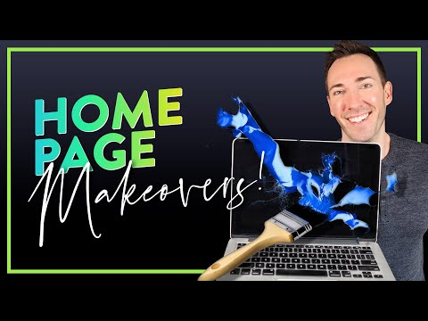 Small Business Website Homepage Makeovers — Real Hero Sections, Before & After!
