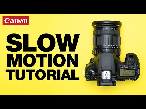 How to Shoot SLOW MOTION Video! Canon EOS 90D Tutorial