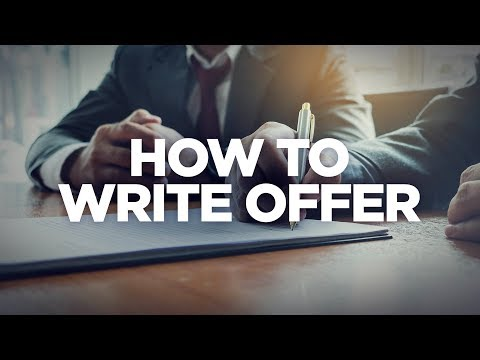 How to Write an Offer - Real Estate Investing Made Simple